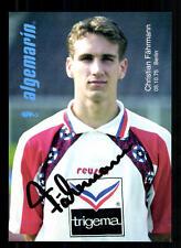 Christian Fährmann Autogrammkarte Hertha BSC Berlin 1995-96 Original Si+A 105785