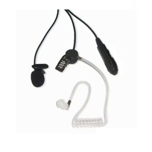 Two Way Radio Covert Earpiece and Mic for Icom Walkie Talkie