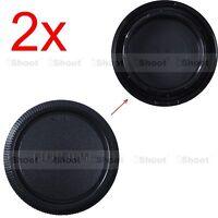 2x Quality Body Cover Cap for Fuji Fujifilm Micro SLR APS-C Camera X-E1 X-E2