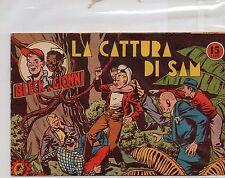 BLECK E GIONNI la cattura di sam COLLEZIONE ARIETE N 18 ( 1949) originale ottimo