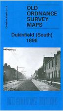 OLD ORDNANCE SURVEY MAP DUKINFIELD SOUTH PICKFORD LANE BENNETT STREET HYDE1896
