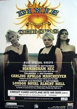 DIXIE CHICKS Uk Tour 2003 original UK promo POSTER new rare !!