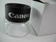 CANON 8X LOUPE UNUSED BOXED PERFECT GREAT FOR LOOKING AT NEGS AND SLIDES