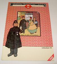 London Transport LT Shop Catalogue 1979 - Posters Postcards Books Maps Photos