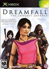 Dreamfall: The Longest Journey (Microsoft Xbox, 2006) FREE SHIPPING