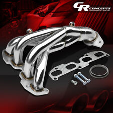FOR 02-06 NISSAN ALTIMA L31 QR25DE 2.5 STAINLESS EXHAUST MANIFOLD HEADER+GASKET