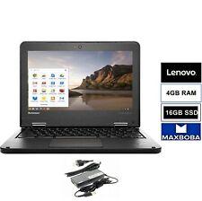 "Lenovo Chromebook ThinkPad 11.6"" 4 GB / SSD /HDMI / Google / USB / WIFI / Webcam"