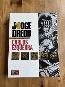 Judge Dredd: The Complete Carlos Ezquerra Vol. 1 Deluxe Hardcover Signed Limited