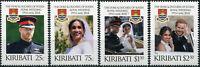 Kiribati. 2018. Hochzeit von Prinz Harry & Meghan Markle (Postfrisch) Satz