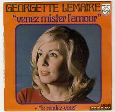 """45 tours Georgette Lemaire """"Venez mister l'amour- rendez-vous'"""" 1972 Comme NEUF"""
