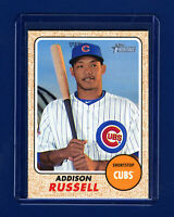2017 Heritage Baseball ADDISON RUSSELL High Number SP ! Cubs !  RARE ! SHARP 🔥