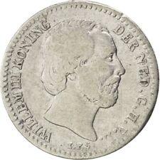 [#26847] Munten, Nederland, William III, 10 Cents, 1855, FR, Zilver, KM:80