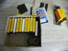 lot ancien  divers accessoires photos négatifs film boites