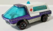 Hot Wheels The Heavyweights Ambulance PURPLE 1969 Redline 1970 RL 6451 RARE HTF