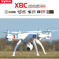 Syma X8C 2.4Ghz 6-Axis Gyro RC Quadcopter UAV RTF UFO Drone with 2MP HD Camera