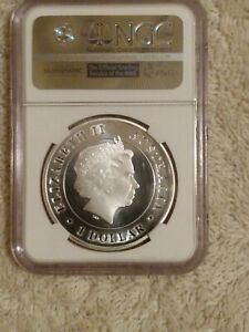 Australian 1 oz silver coins NGC certified from mint sealed box #1