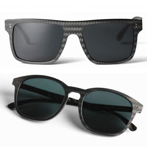 Men Women Full Frame Carbon Fiber Sunglasses Driving Fishing Polarizers Glasses