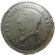 NAPOLI-Due Sicilie (Ferdinando I di Borbone) 10 Tornesi 1819
