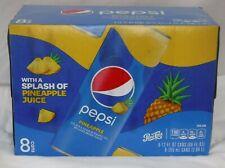 NEW Exclusive 8pk/ 12 fl. oz. Pepsi Cola Pineapple Juice Rare Limited Edition