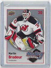 2009-10 MARTIN BRODEUR UPPER DECK HOCKEY HEROES #HH-15