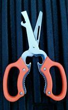 2 -New Multi-Purpose Kitchen Shears Scissors Jar Opener Nut Cracker Multiple use