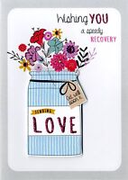 Speedy Recovery Get Well Greeting Card Second Nature Just To Say Cards