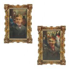 """HALLOWEEN """"holographisch 3 D Gemälde"""" """"Junge im Wohnzimmer ... Gruselkabinett"""