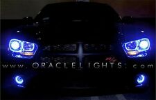 2011-2014 Dodge Charger Oracle Blue LED Headlight & Fog Light Halo Kit