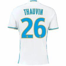 Adulte 2XL olympique de marseille home shirt 16/17 thauvin 26 ligue 1 badge MA1