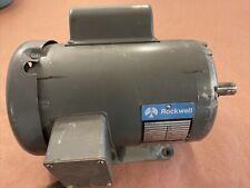"Delta Rockwell 12"" Disc Sander Motor 1 HP 1725 RPM 7/8"" Shaft"