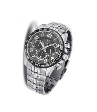 100 m (10 ATM) Quarz-(Batterie) Armbanduhren aus Edelstahl mit Arabische Ziffern