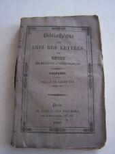 LIVRE ANCIEN POUR COLLECTION , BIBLIOTHEQUE DES AMIS DES LETTRES , VOLTAIRE.1830