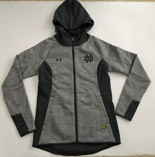 UNDER ARMOUR Women's Small Notre Dame Fighting Irish Team Issued Swacket Jacket