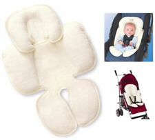 Snuzzler Baby Infant Complete Body & Head Support Car Seat  & Pram Liner - Ivory