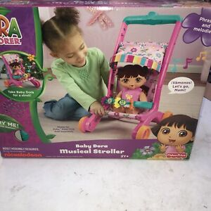Dora The Explorer Baby Dora Musical Stroller