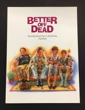 Better Off Dead Movie Presskit Cover 1985 John Cusack *Hollywood Posters