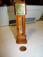 Grandfather Clock Dollhouse Miniature 1:12 Scale