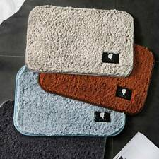 Anti-Slip Ultra Soft Bath Mat Door Area Rug for Indoor Outdoor Floor Carpet Pad