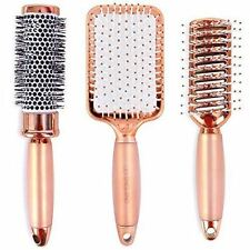 Lily England Rose Gold Hair Brush Set | Luxury Professional Hairbrush Gift Set
