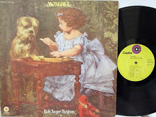 """BOB SEGER - Mongrel LP (1st US Issue on """"lime-green"""" CAPITOL w/Gatefold Cover)"""