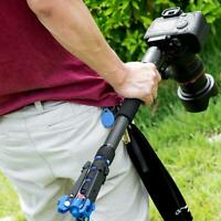 C-222 Carbon Fiber Monopod Tripod Stand Support with Storage Bag for DSLR Camera
