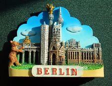 Deutschland Berlin Wahrzeichen Reise Souvenir 3D Polyresin Kühlschrank Magnet