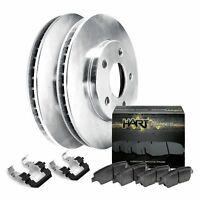 Nakamoto Brake Pad /& Rotor Front Ceramic Kit Set for Volvo 850 C70 S70 V70