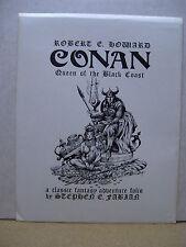 Stephen E. Fabian: Conan - Queen of the Black Coast Portfolio (sign./nbrd.)(USA)