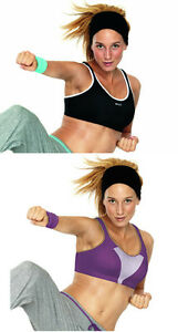 Shock Absorber Sports Bra S4490. Black or Purple. Sizes 30D, 36H or 38C