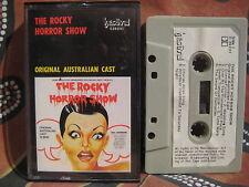 THE ROCKY HORROR SHOW 1974 Original Australian Cast Recording ~ Cassette Tape