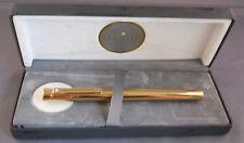 Sheaffer Targa Imperial Brass #1020 Fountain Pen--NEW OLD STOCK