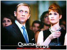 QUANTUM OF SOLACE Jeu 8 Photos Cinéma / Lobby Cards Stills DANIEL CRAIG 007