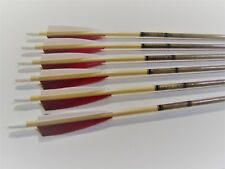 """6 MATCHED WOOD ARROWS  29"""""""