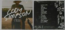 Cody Simpson - Free - Sealed 2015 Promo (?) Picture Cover Card Sleeve CD